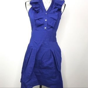 EXPRESS Sleeveless Blue Dress (Size 6)